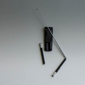 3002 Winkelrute Teleskob schwarz - Wünschelruten-Shop