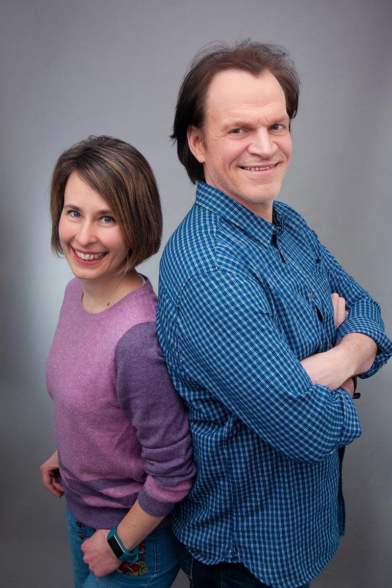 Sonja & Jörg Teambild